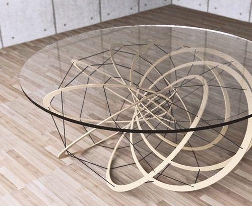yoshinobu miyamoto – torus geometry inspired furniture