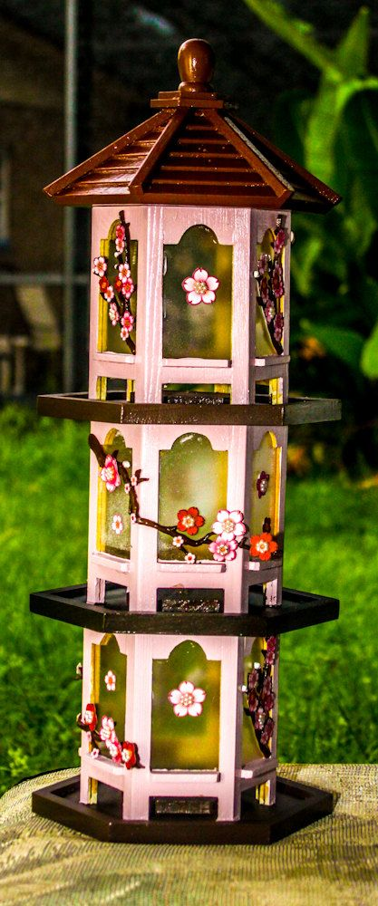 3Tier Japanese Pagoda Bird Feeder  Bird feeders Etsy and Birds