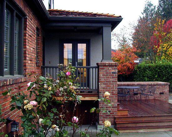 25+ Best Ideas About Gray Brick Houses On Pinterest