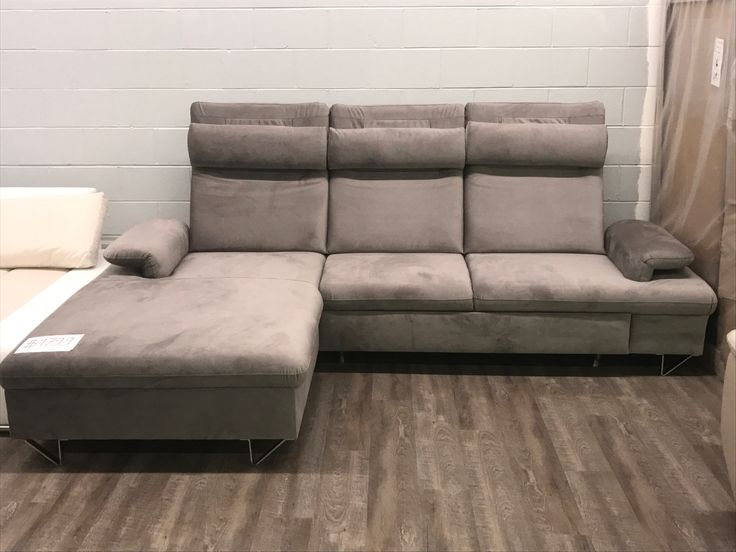 small sectional storage chaise sofa pull out bed sleeper black microfiber with 25+ best ideas about on pinterest ...