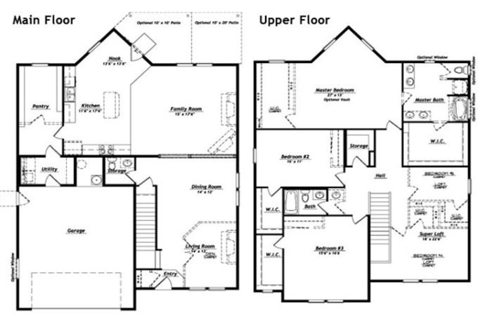 Hubble Homes Floor Plans