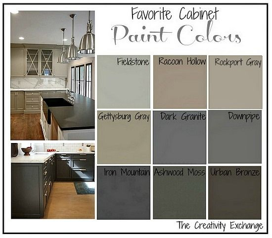 Best Kitchen Cabinet Paint Colors Favorite Kitchen Cabinet Paint Colors | Paint Colors