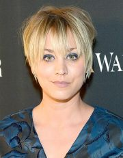 calie cuoco haircut hairstyle