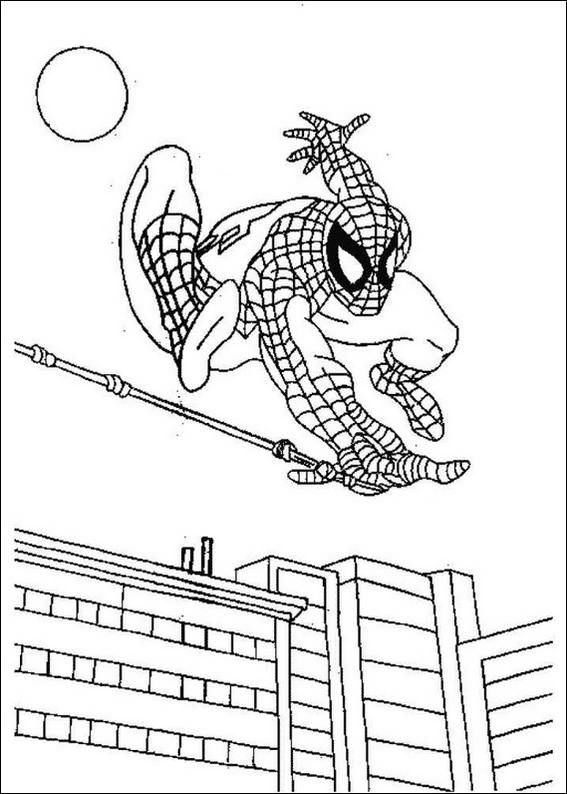 1000+ images about spiderman coloring pages on Pinterest