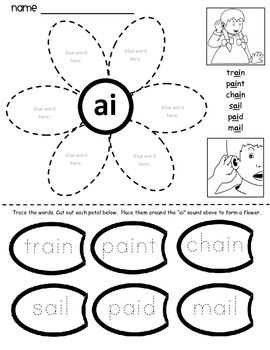 Printables. Vowel Digraph Worksheets. Messygracebook