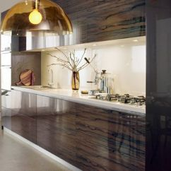 How To Create A Pantry In Small Kitchen 27 Sink Laminex Diamond Gloss- Seductive Limba   2013 Trends ...