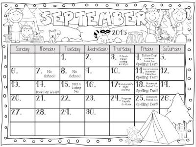 35 best images about Classroom Calander on Pinterest