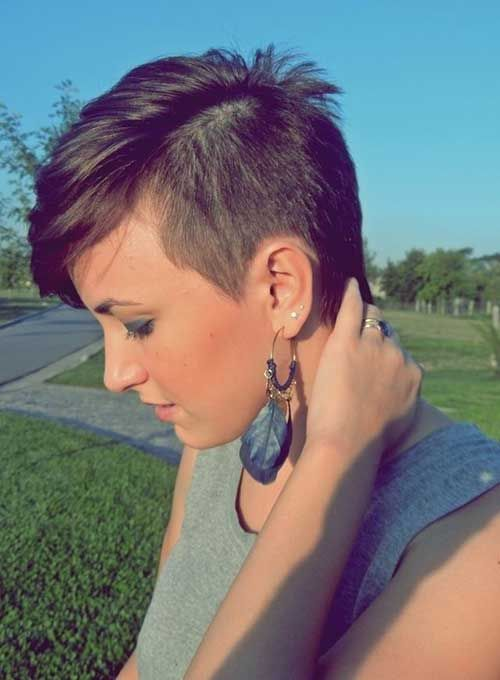 25 Best Ideas About Shaved Pixie Cut On Pinterest Pixie Haircut