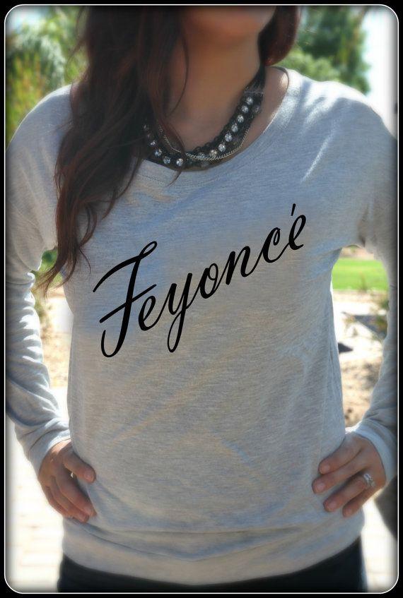 Feyonce Shirt Long Sleeve Wifey Shirt Bridal Shower Gift