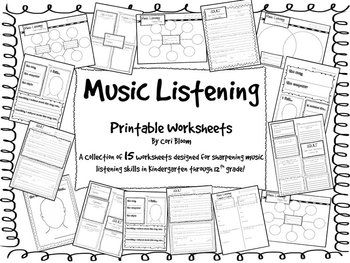 1000+ images about Listening & Responding to Music on