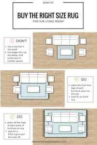 25+ Best Ideas about Rug Size Guide on Pinterest | Rug ...