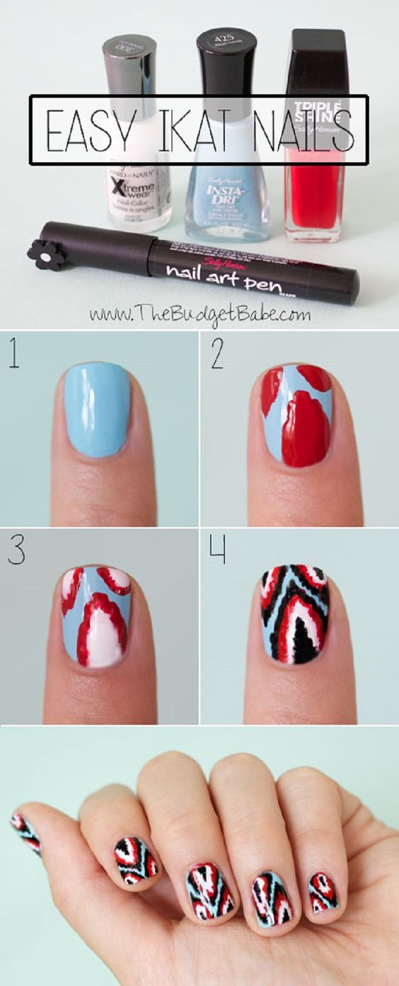 25+ best Sharpie Nail Art ideas on Pinterest
