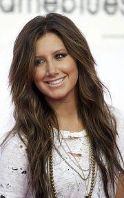ashley tisdale brown hair
