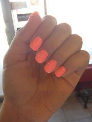 bright summer nail colour