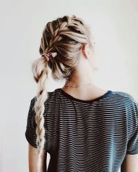 17 Best ideas about Braid Ponytail on Pinterest | Braided ...