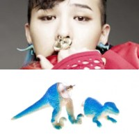 BIGBANG G-DRAGON STYLE Dinosaur earring by alter ego ...