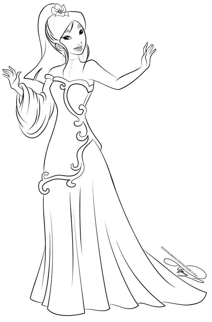 311 best disney princess coloring pages images on Pinterest