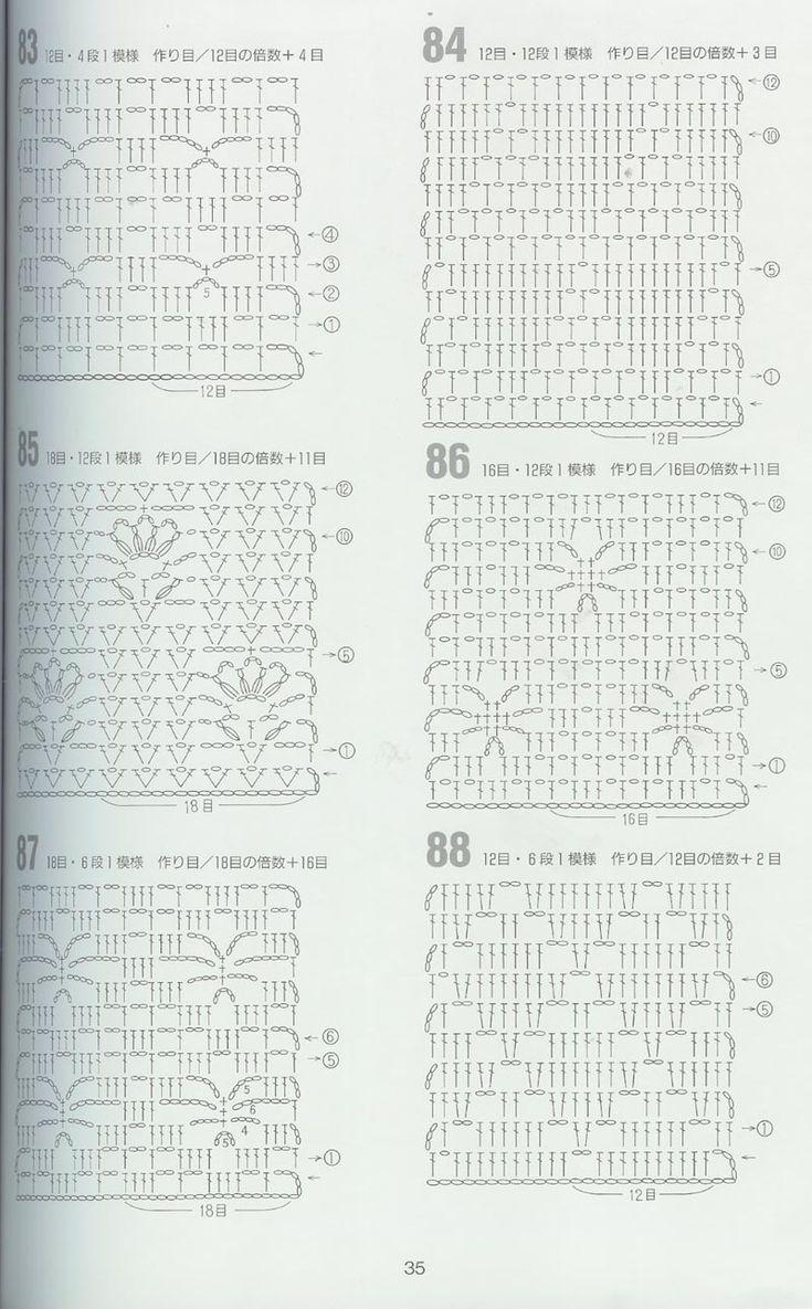 25+ best ideas about Japanese crochet patterns on