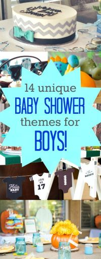 25+ best ideas about Unique baby shower themes on ...