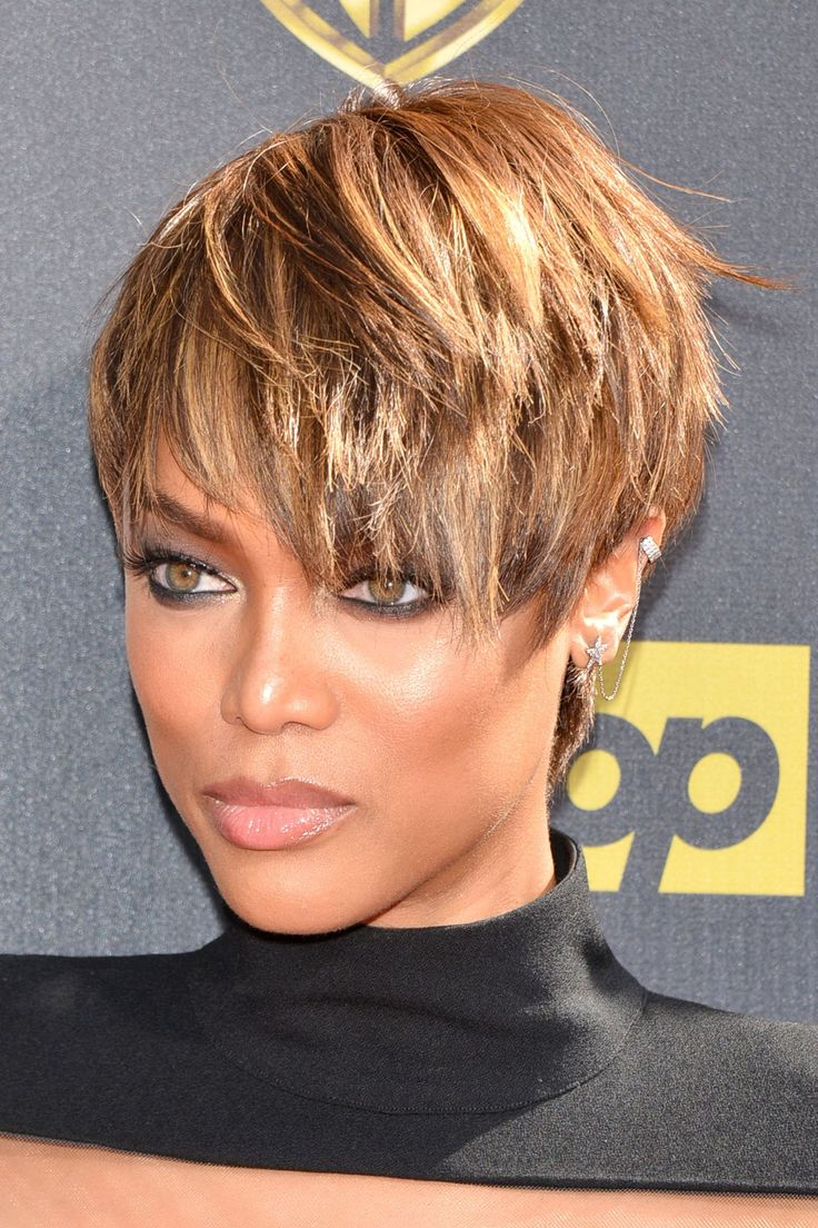 tyra banks short hairstyle  Google Search  Hair n There