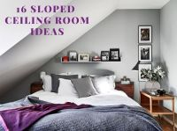 17 Best ideas about Sloped Ceiling Bedroom on Pinterest ...