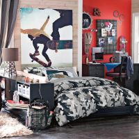 Cool Room Designs For Guys Skateboarders