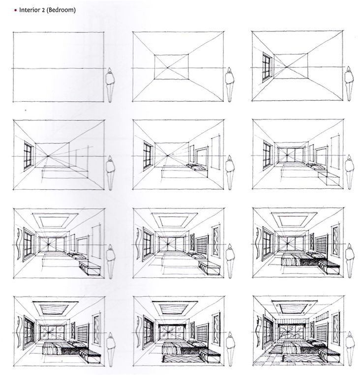 25+ Best Ideas about Perspective Sketch on Pinterest