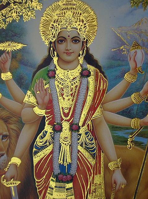 Santoshi Mata 3d Wallpaper 1000 Images About Hindu Goddess Durga On Pinterest