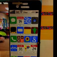 iPhone school door decor w/important dates/activities for ...