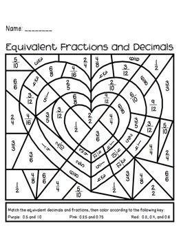 25+ best ideas about Fractions and decimals practice on