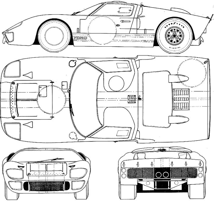 http://carblueprints.info/blueprints/ford/ford-gt-40-mkii