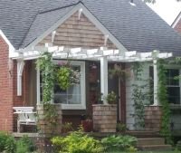 1000+ images about Front Porch Pergola on Pinterest | Mid ...