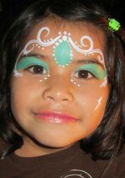 ideas princess face painting