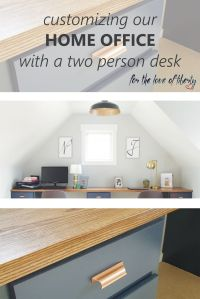 25+ best Two Person Desk ideas on Pinterest | 2 person ...