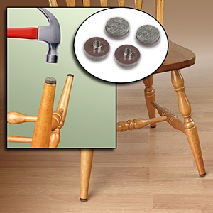 Floor protectors  set of 8 chair sofa leg grips 78