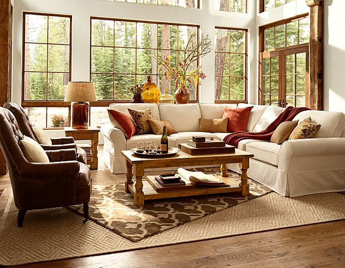 pottery barn leather sofa quality cushion supports best 25+ ideas on pinterest