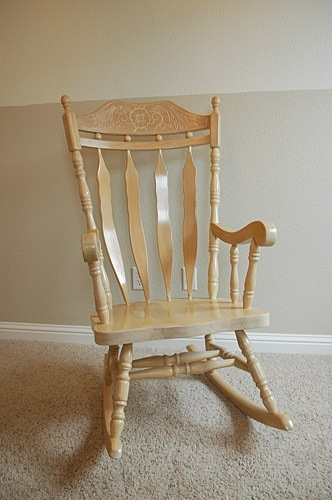 Diy Wooden Rocking Chair Plans  WoodWorking Projects  Plans