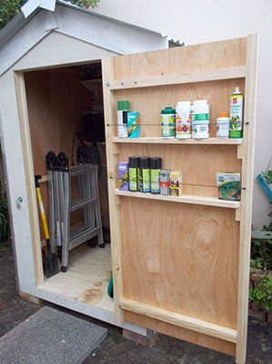 The 25 Best Ideas About Storage Shed Organization On Pinterest