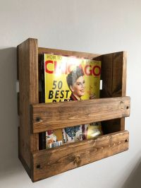 17 Best ideas about Rustic Magazine Racks on Pinterest ...