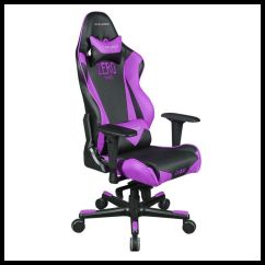 Office Chair Vinyl White Desk For Kids Dxracer Oh/rv001/nv High-back Racing Style Carbon Look Vinyl+pu(black/violet ...