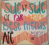 """Poster to make before leaving for college... """"Side By Side ..."""