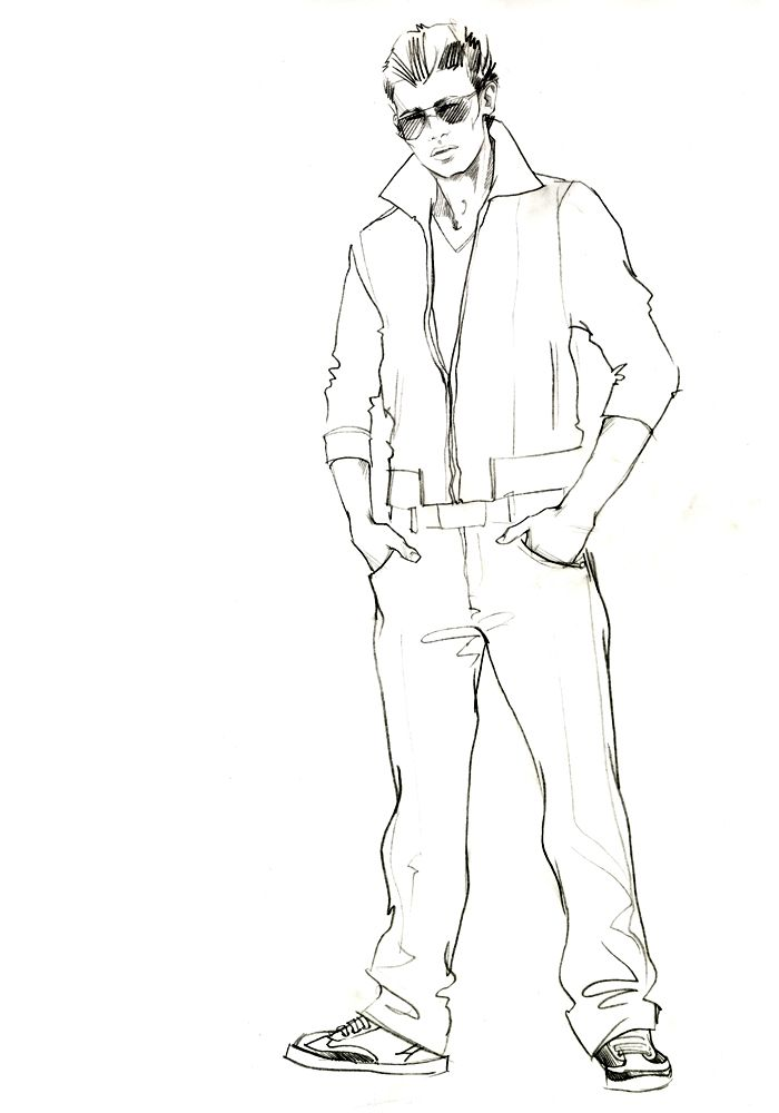 315 best images about fashion sketches (men) on Pinterest