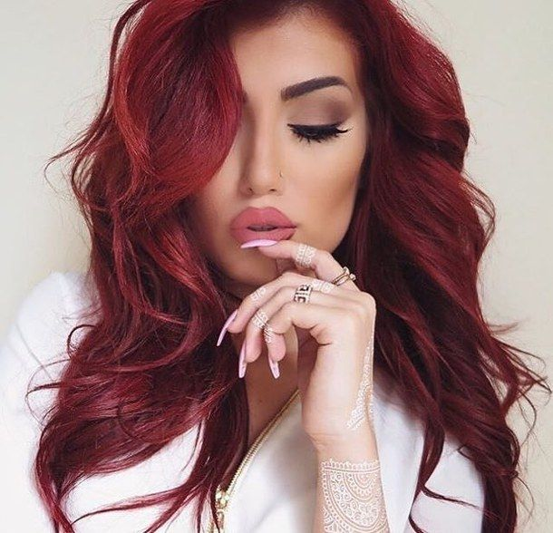 25 Best Ideas About Red Hairstyles On Pinterest Red Hair