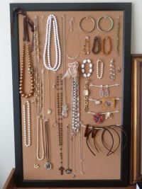17 Best ideas about Cork Board Jewelry on Pinterest