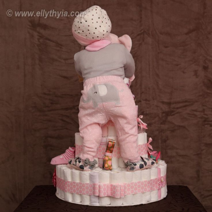 how to make motorcycle diaper cakes for baby showers