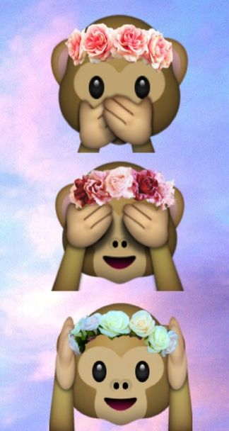 Cute Emoji Wallpapers Monkeys 25 Best Ideas About Imagenes Con Emojis On Pinterest