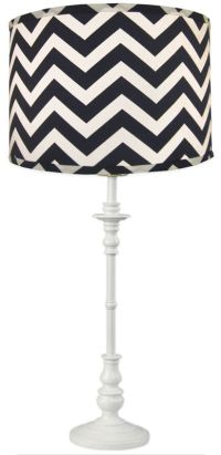 1000+ ideas about Chevron Lamp Shades on Pinterest   Grey ...