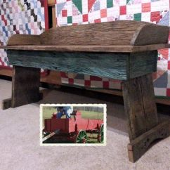 Amish 3 In 1 High Chair Plans Kitchen And Dining Room Chairs Buckboard Wagon Bench - Woodworking Projects &