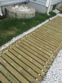 Beach House yard boardwalk and shell garden | Ideas for ...
