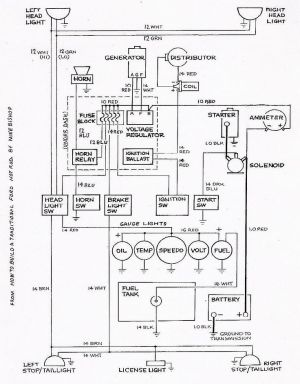 Basic Ford Hot Rod Wiring Diagram | Hot Rod Tech